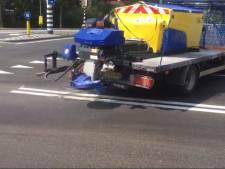 Straatbeeld: Op de heetste dagen van het jaar stuurt Den Bosch de strooiwagens de weg op om zout te strooien