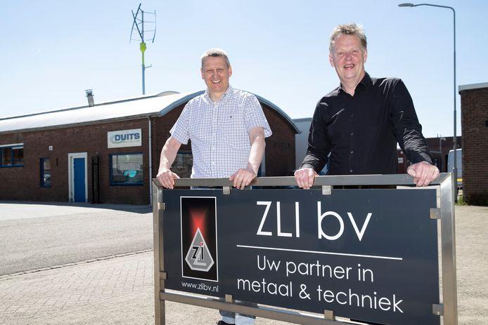 Duits Sustainable Solutions en Zutphense Las Industrie worden zusterbedrijven. Alfred Stokvis (links) en Gerard Keessen.