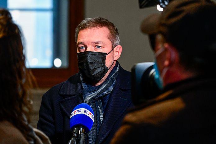Advocaat Laurent Kennes van de verdediging betwist het tijdstip van overlijden.