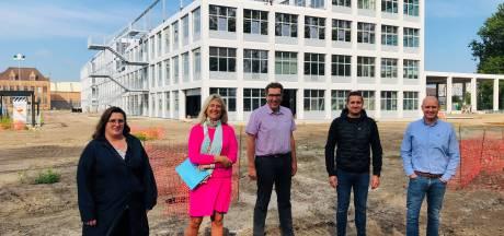 Pompstation en bufferbekken rond nieuwe school van VTI in Brugge zijn klaar