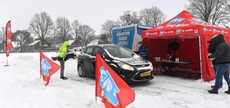 Van Smit in Nijmegen tot Gazelle in Dieren: medewerkers rijden door 'staakstraat' voor hoger loon