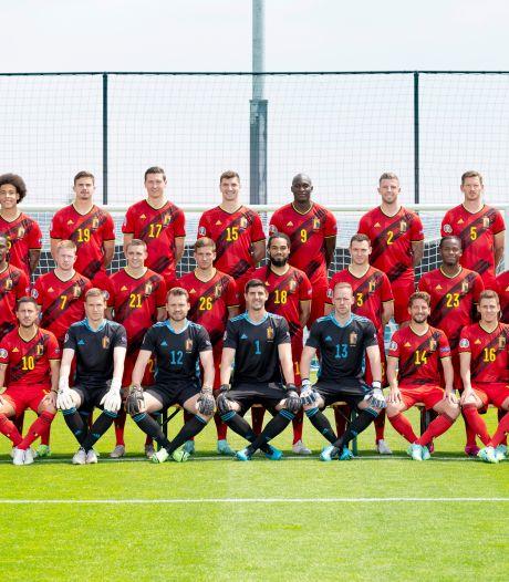 Voici la photo officielle des Diables pour l'Euro 2020
