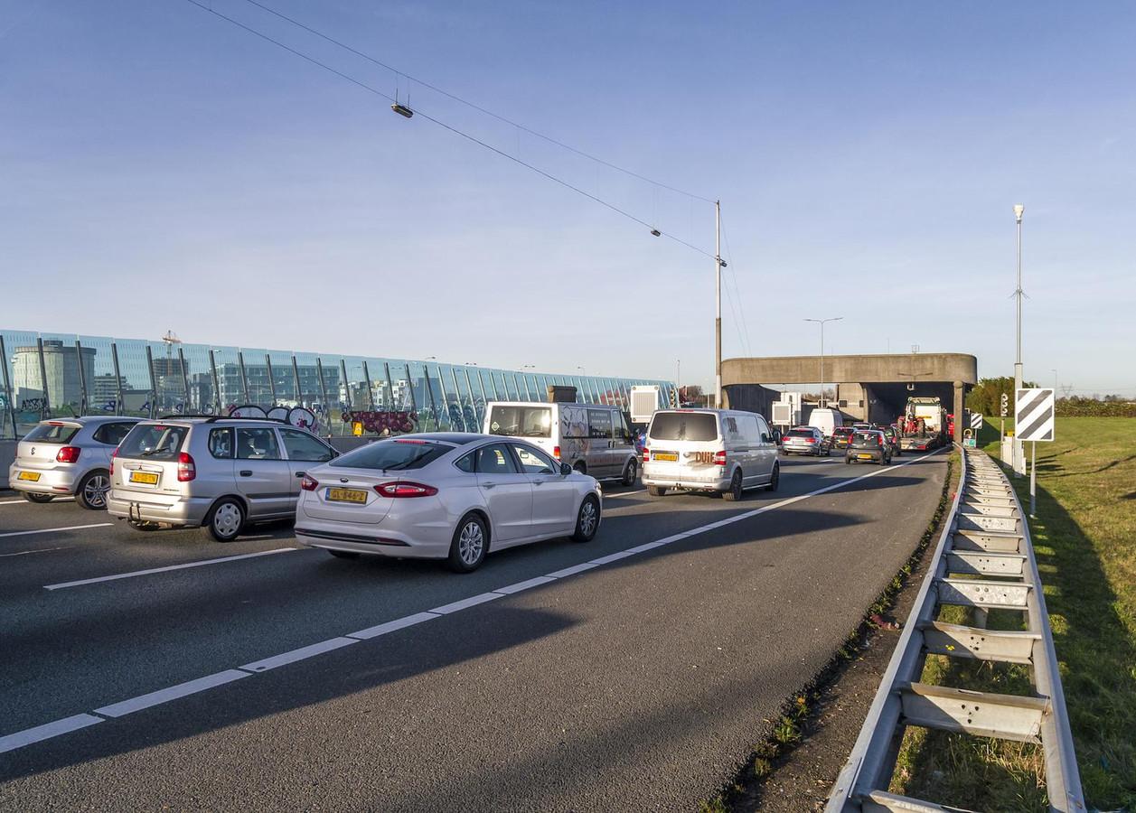 De Zeeburgertunnel.