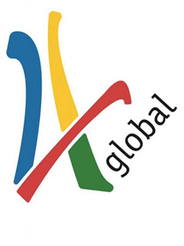 Het logo van het Britse adviesbureau voor sportevenementen 4 Global. Beeld 4 Global