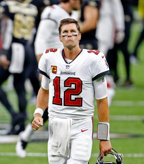 Brady begint bij Tampa Bay Buccaneers met nederlaag