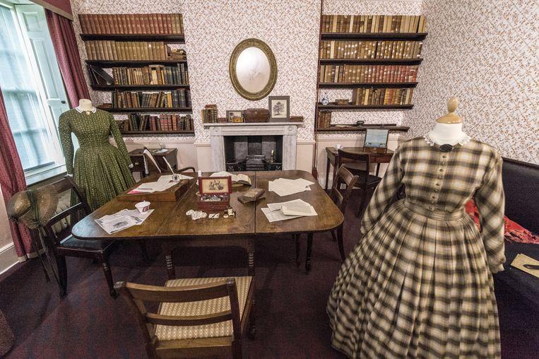 De zussen Charlotte, Emily en Anne groeiden hier op en bespraken met elkaar hun literaire vorderingen. Beeld Alamy