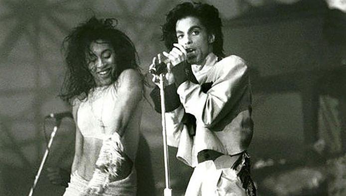 Prince gaf in 1987 een optreden in de Galgenwaard