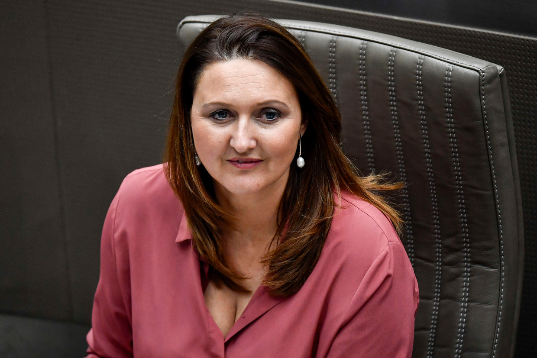 Open Vld-voorzitter Gwendolyn Rutten. Beeld BELGA
