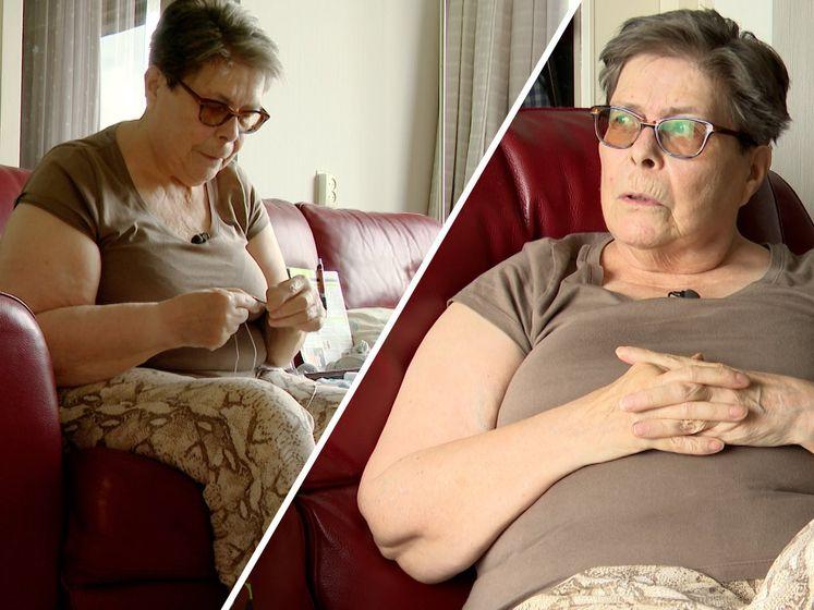 Longpatiënte Anneke (71) durft eigenlijk niet naar buiten vanwege corona