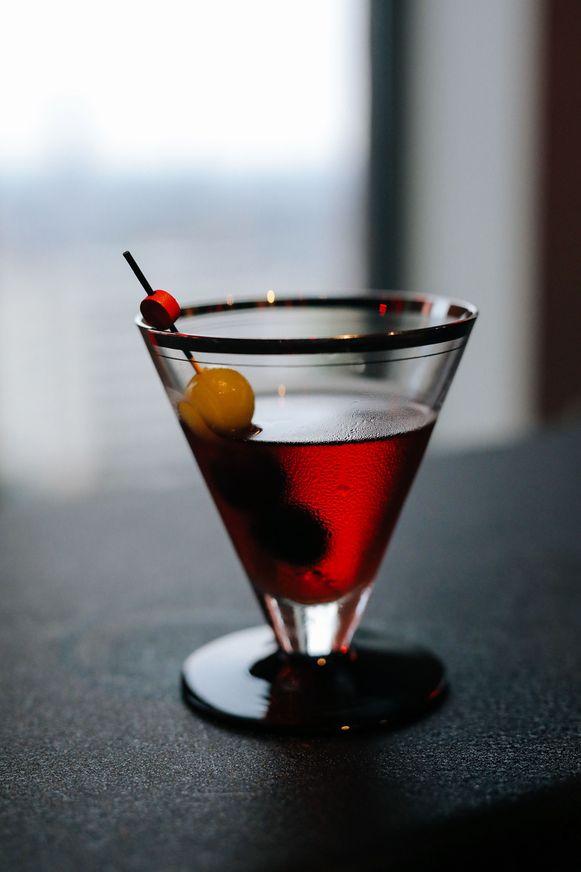 De Negroni-cocktail