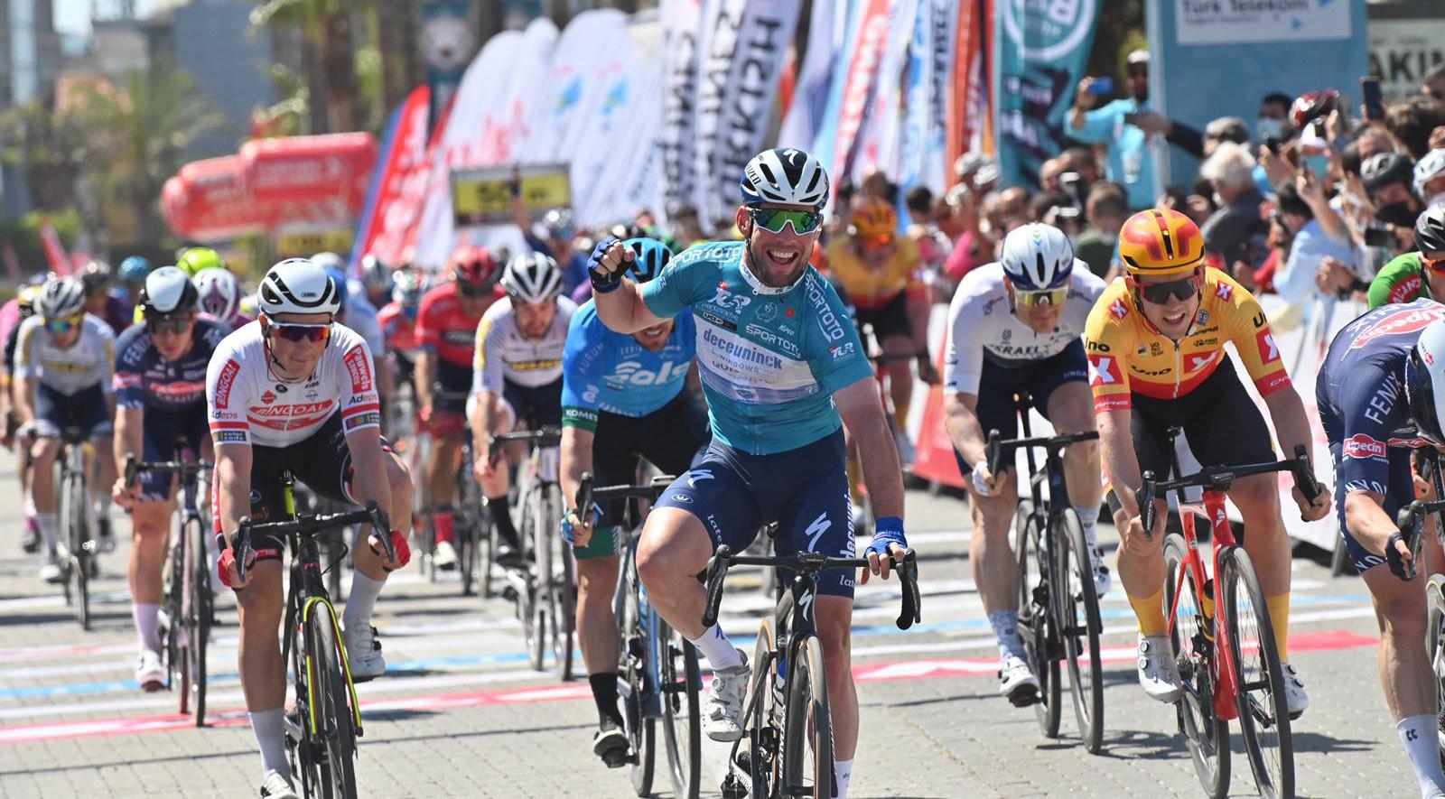 En nummer 2 in Turkije voor Mark Cavendish.