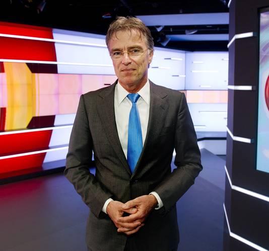 NOS Journaal-presentator Rob Trip.
