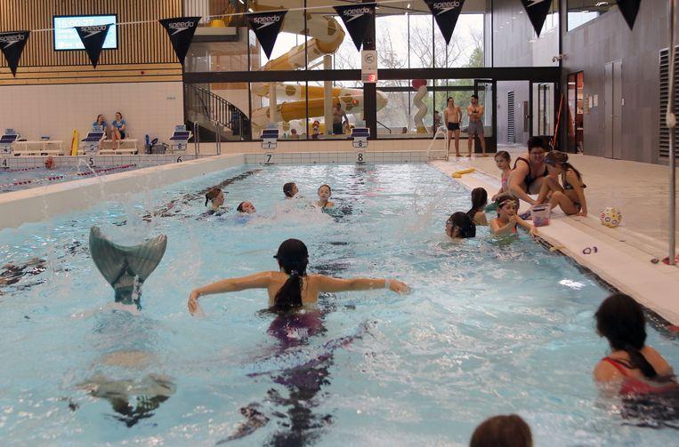 Archiefbeeld van zwembad Den Uyt.
