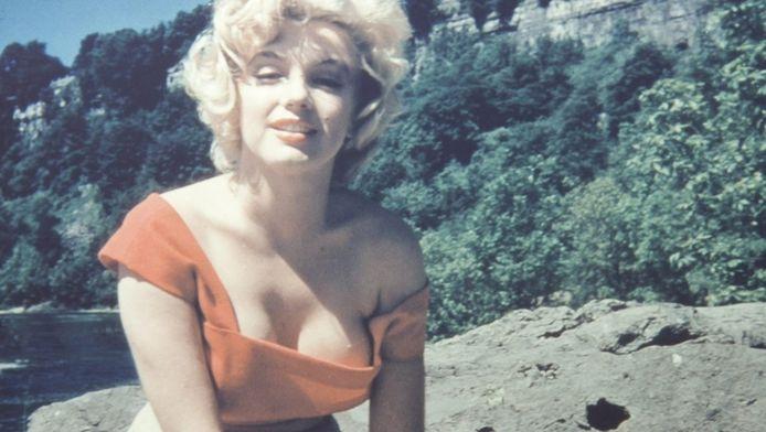 Marilyn Monroe op een foto uit 1953 die in 2012 werd geveild in Beverly Hills.