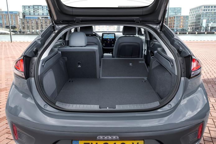 Een prima gezinsauto: de Ioniq Electric is redelijk ruim