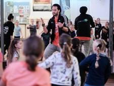 Luka wil al dagen op de stakingsdag naar DJF Dance Centre