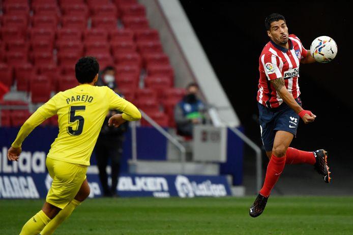 Dani Parejo en Luis Suarez.