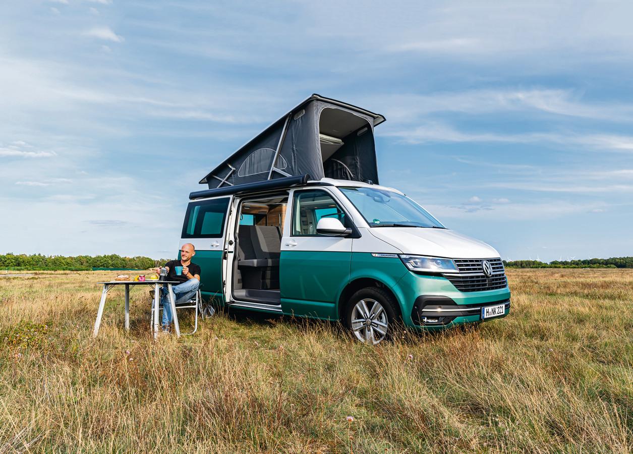 De nieuwste uitvoering van de Volkswagen California Ocean T6.1.
