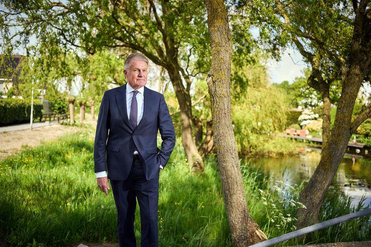Jan van den Bos: 'Als je een rol hebt als de mijne, moet je durven mishagen. Je moet zeggen waar het op staat.' Beeld Phil Nijhuis