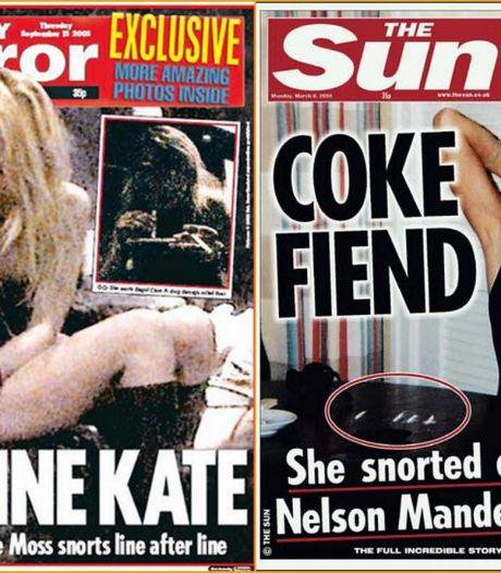 15 jaar nadat Kate Moss cocaïne snoof op alle voorpagina's: zo gaat het nu met het supermodel