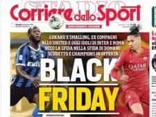Italiaanse sportkrant in opspraak met 'Black Friday'-cover