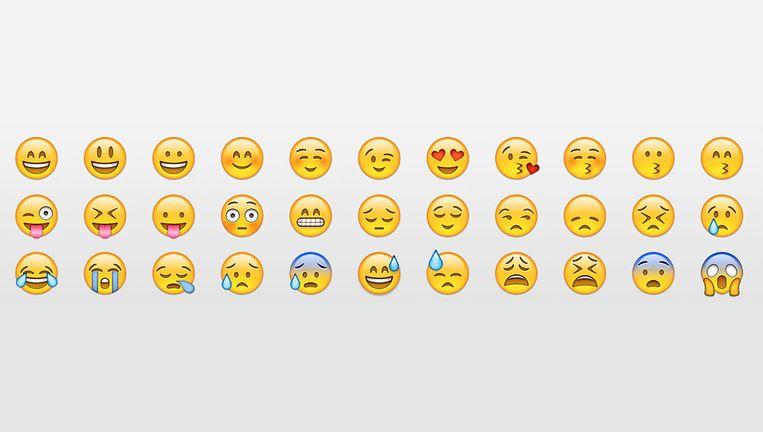 Deze bestaande emoji krijgen binnenkort gezelschap van onder andere een dansende man, een cowboy en een clown. Beeld