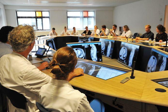 De high-tech overlegruimte in het UMC Utrecht