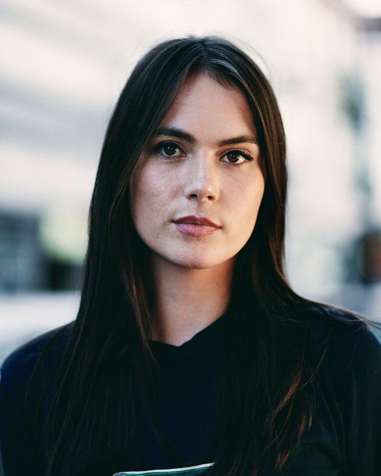 Charlotte Timmers: 'Ik ben al eens tot tranen toe in discussie gegaan over de loonkloof tussen mannen en vrouwen. Als het daarover gaat, flip ik.' Beeld Joris Casaer