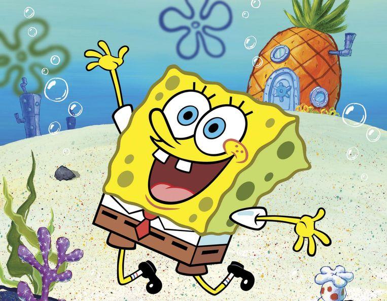 SpongeBob SquarePants. Beeld RV/Nickelodeon