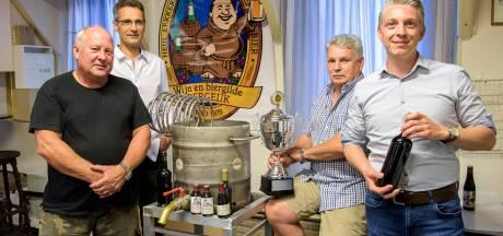 Wijn- en biermakersgilde in Bergeijk: Drinken met mate en met maten