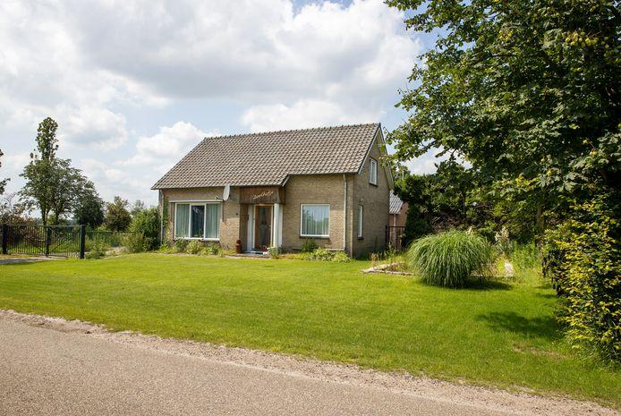 De locatie Chijnsgoed 7 in Sterksel waar Reiling een bedrijf wil vestigen.