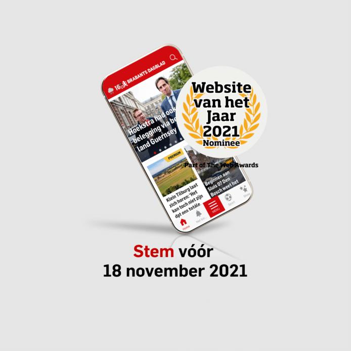 BD.nl genomineerd voor Website van het Jaar 2021.