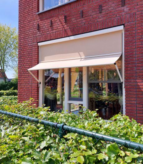 Geen camera's in Linschoten ondanks steen tegen ruit van zorgcentrum