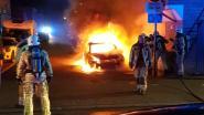 VIDEO. Beschonken bestuurster pleegt vluchtmisdrijf,  auto brandt uit na parkeren