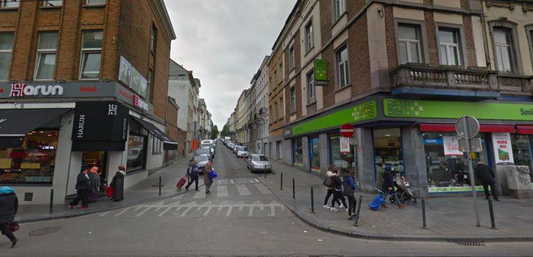 Kruising met de Lochtstraat en de Gallaitstraat.