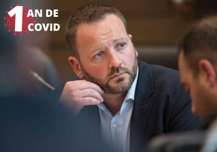 Le député fédéral Patrick Prévot