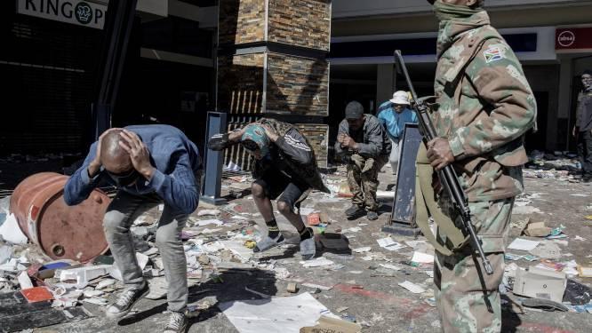 Zuid-Afrika: steeds meer doden bij rellen na arrestatie ex-president Jacob Zuma
