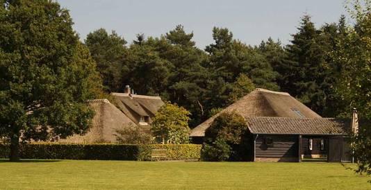 Landgoed Ulvenhart in Ulvenhout, waar het college voor een tweedaagse 'heisessie' zat.