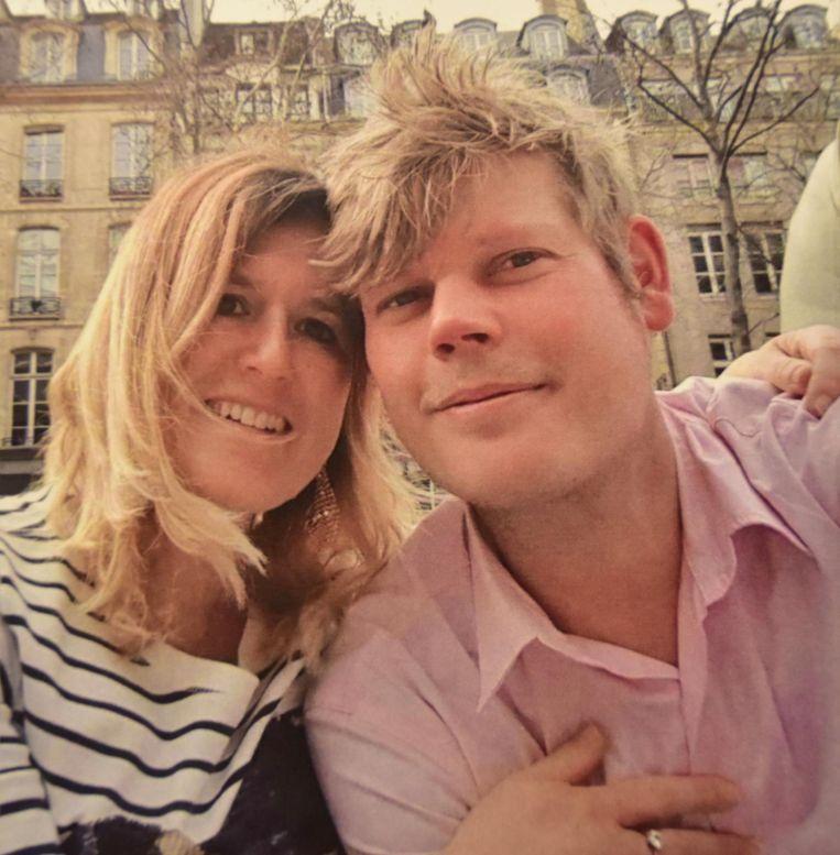 Steven Verbrigghe en zijn echtgenote, Katariena Mayer.