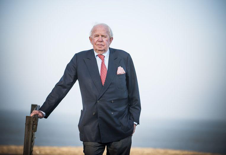 Leopold Lippens, de burgemeester van Knokke. Beeld BELGA