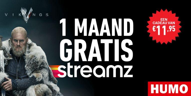 Gratis 1 maand Streamz bij Humo Beeld Streamz