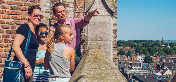 Op 11 september kunnen bezoekers gratis de Grote Toren in Gorinchem beklimmen.