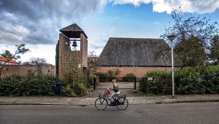 Het gebouw van de Gereformeerde Kerk Vrijgemaakt De Schaapskooi in Amersfoort Beeld  Raymond Rutting/de Volkskrant