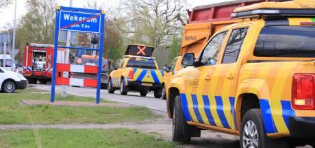 Otterloseweg vijf uur afgesloten door twee gaslekken in Wekerom