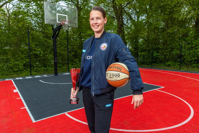 Marlou de Kleijn is weer gekozen in het All Star-team van de Women's Basketball League.