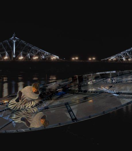 Te zien tijdens DDW: Gesamtkunstwerk rond enorme glazen schijf