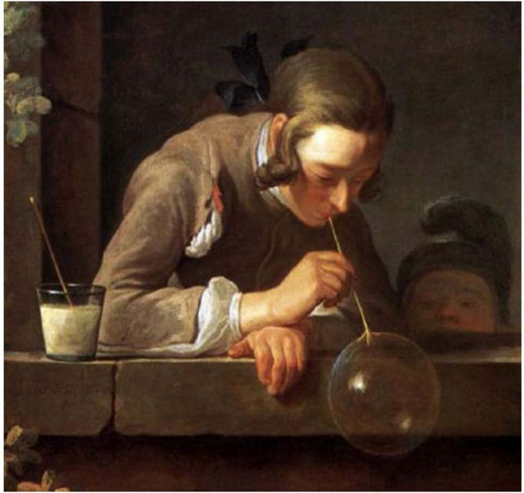 'Les bulles de savon' Beeld  Jean-Baptiste Siméon Chardin