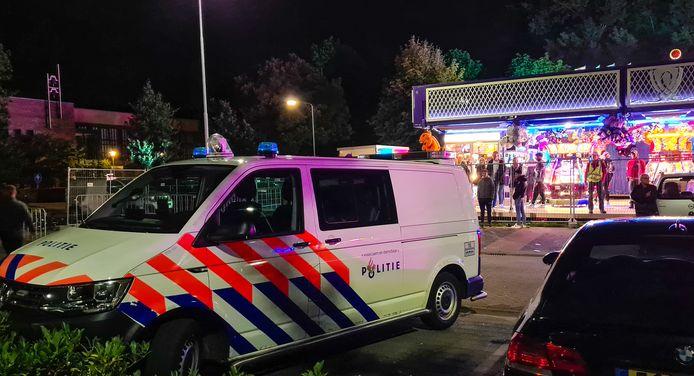 De politie moest eraan te pas komen bij een vechtpartij in Nijkerk.
