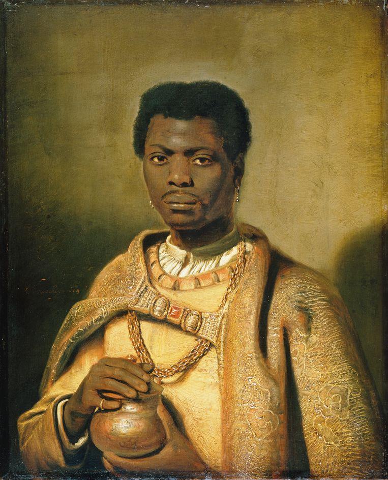 Koning Caspar van Hendrick Heerschop,  Beeld
