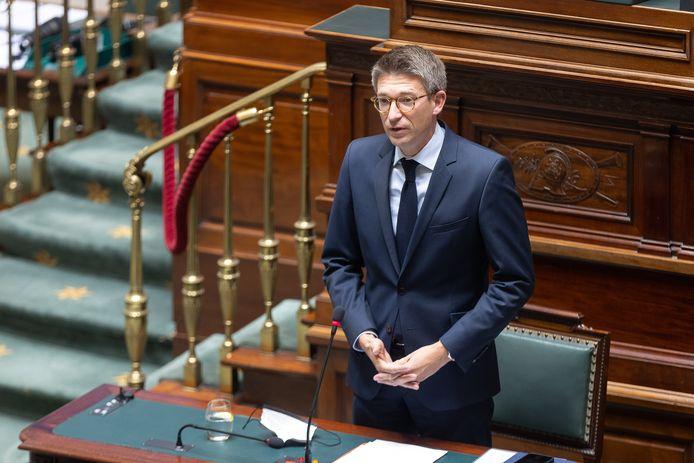 Pierre-Yves Dermagne, le ministre du Travail